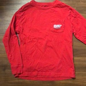 Vineyard vines boys  Valentine's Day shirt